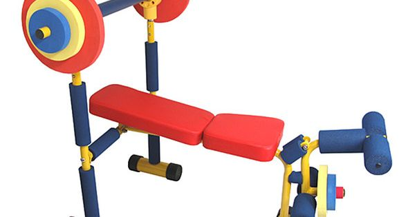 weight bench set for toddlers and kids by redmon lol