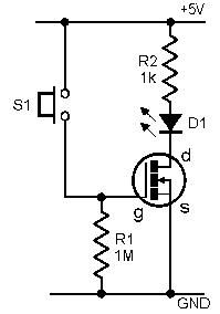 Using A Mosfet As A Switch Electronics Circuit Hobby