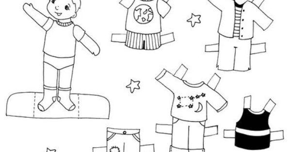 Boy3 Doll Jpg 510 362 Pixels Ninos Animalitos Para Colorear Manualidades Para Ninos