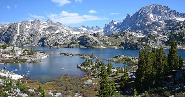 Island Lake Island Lake Travel Sights Hiking Site