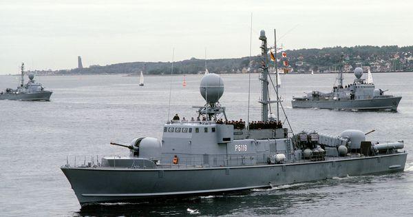 S69 Habicht (P6119) - Albatros class Fast Attack Craft ...