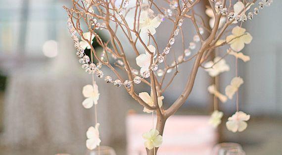 Manzanita Branch Centerpiece Wedding by CreativeUniqueBoutiq, $50.00