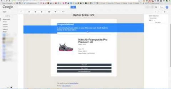 tema tanque Discutir  Better Nike Bot Live Demo - Auto Captcha, Early Links, Super Fast! |  Wellness, Bot, Get well