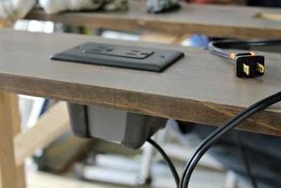 Make It Diy Sofa Table With Outlets Diy Sofa Table Diy Sofa Couch Table Diy