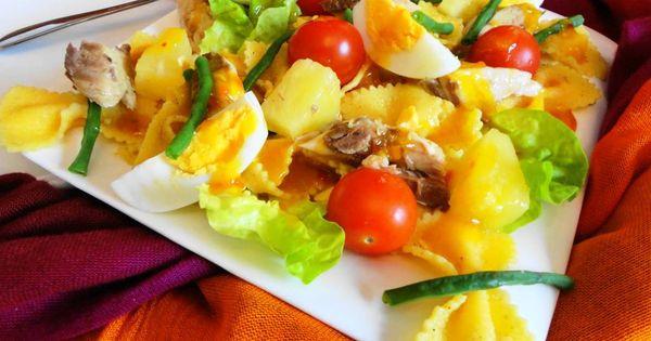 Kousenband Makreel Salade (slanke en gezonde salade met ...