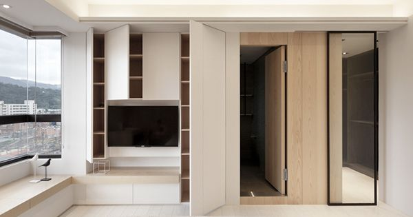 INDOT  THE FAMILY'S INN on Behance  TV Units  Pinterest  거실, 침실 디자인 ...