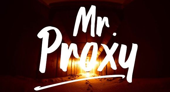 Mr. Proxy | Handwritten Font by Nursery art