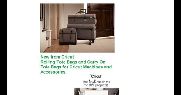 Cricut Rolling Craft Totes Machine Bag And Shoulder Bag Youtube Craft Totes Cricut Crafts