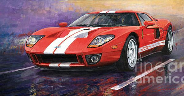 Ford Gt 2005 By Yuriy Shevchuk Ford Gt Ford Gt 2005 Automotive