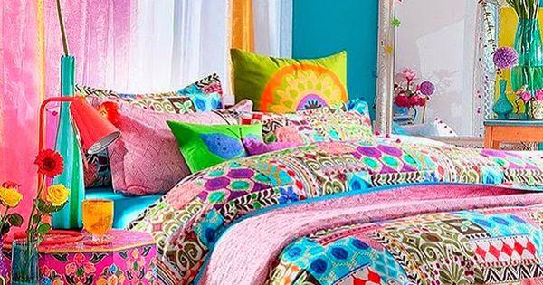 Decoraci n de dormitorios hippie decoraci n for Decoracion hogar hippie