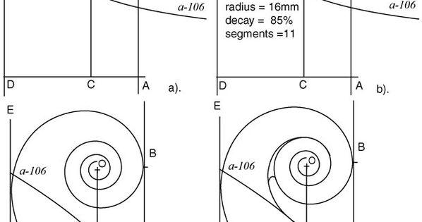 the geometric reconstruction of stradivari u2019s sketch of a