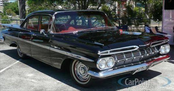 Black 1959 Chevrolet Bel Air 4 Door Sedan With Righthand Drive Rhd From Australia Chevrolet Bel Air Old Cars Bel Air