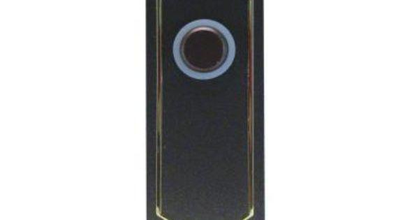 IQ America Wireless Battery Operated Doorbell Push Button
