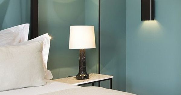 nos astuces en photos pour peindre une pi ce en deux couleurs chambres roses rose pale et mur. Black Bedroom Furniture Sets. Home Design Ideas
