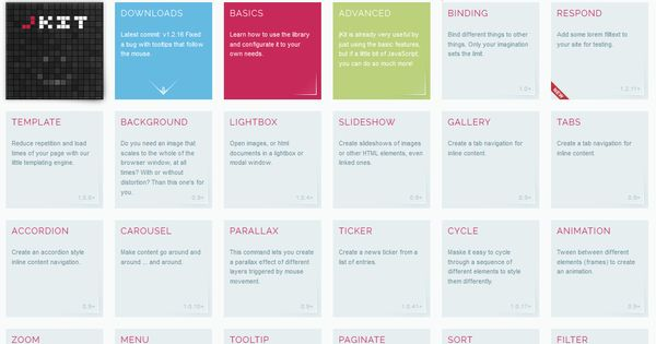 jkit jquery based ui toolkit accordion ajax animation carousel chart code filter form free gallery javascript jquery me