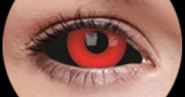 Black Sclera Red Iris Contacts Black Sclera Red Iris ...