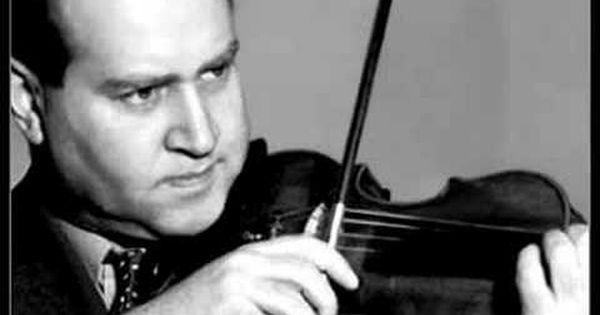 David Oistrakh Khachaturian Violin Concerto 1st Mov P1 2 Violin Violinists Best Violinist