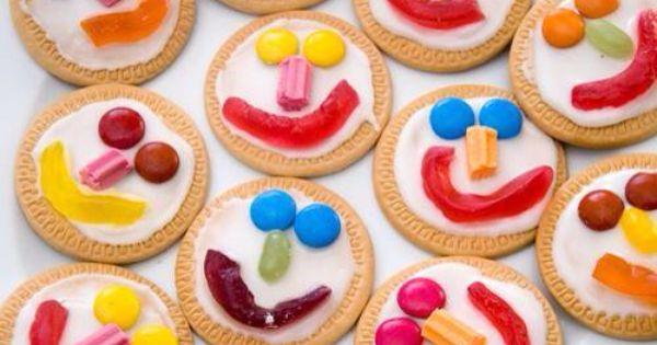 Kids Activity Biscuit Decorating Ide