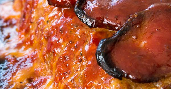 Best Meatloaf ~ So many different lush flavors mixed together including onions,