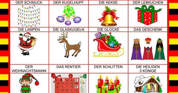 Willkommen auf deutsch weihnachten in deutschland weihnachten im daf daz unterricht o natal - Weihnachten daf ...