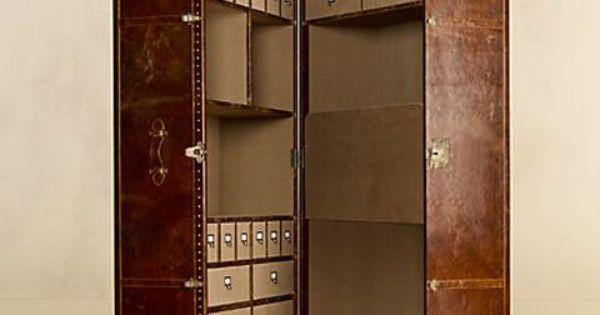 mayfair steamer secretary trunk armoire so amazing furniture maker timothy oulton of london. Black Bedroom Furniture Sets. Home Design Ideas
