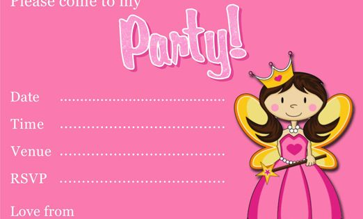 Free Printable Princess Party Invitation Template | Princess Themed | Pinterest | Princess party ...