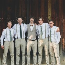 Ideas For Your Groom Suspenders Wedding Khaki Groomsmen Groom And Groomsmen