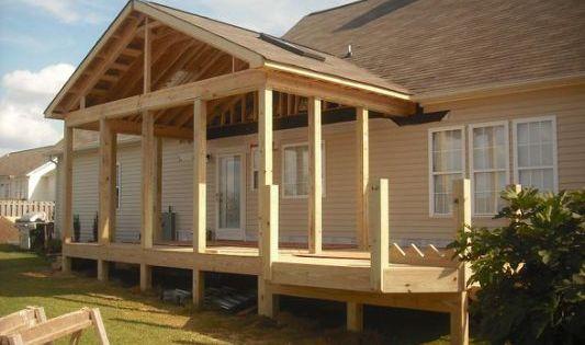 Gable Porch Roof Designs On Screen Porch Roof Design Building A Porch Porch Design