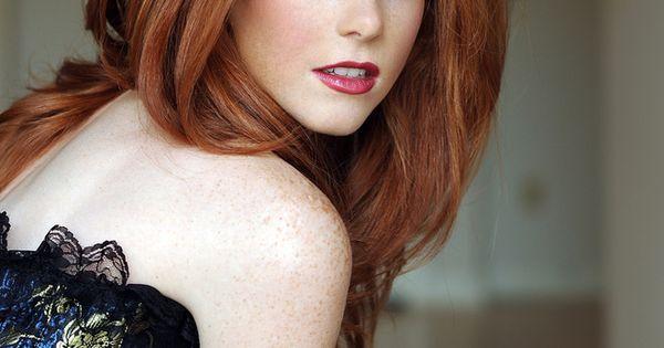 Vanessa Jade red head ginger freckles