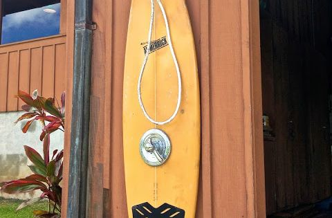 Surfboard shower need to try dyi stuff pinterest for Diy outdoor shower surfboard
