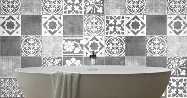 Luxury tiles autocolantes para azulejos azulejos for Azulejos para lavabos