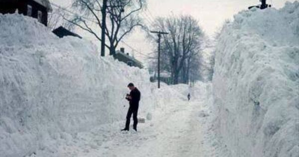 Syracuse Ny Blizzard Of 1966 Photo By S Allen Home