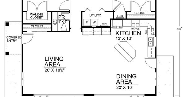 Best Small Open Floor Plans Second Main House Design And Decorating