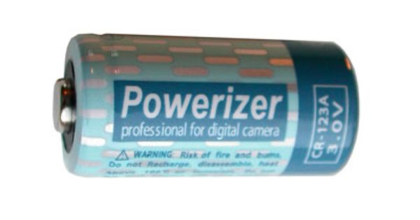 Powerizer Cr123a 3 Volt Lithium Battery Cr17345 Lithium Battery Camera Batteries Batteries