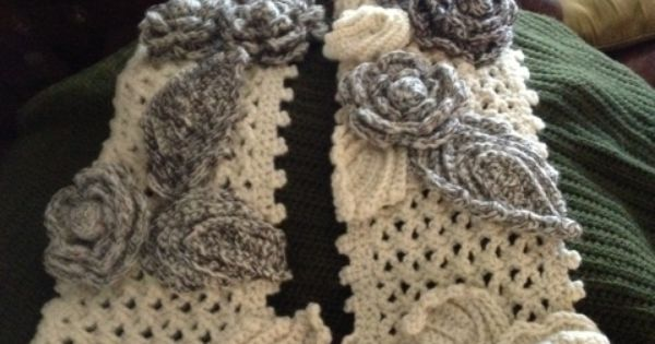 Free Crochet Pattern Irish Lace Scarf : free irish lace crochet scarf patterns - Google Search ...