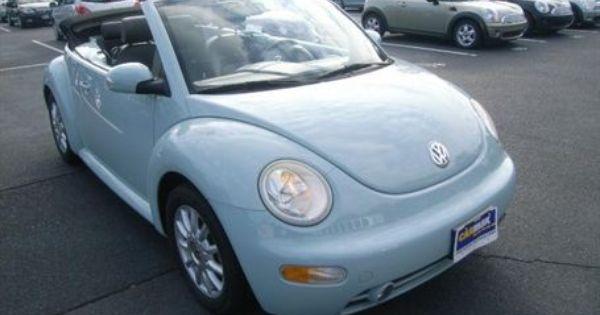 2005 Vw Beetle 15 998 00 Vw New Beetle My Dream Car Dream Cars