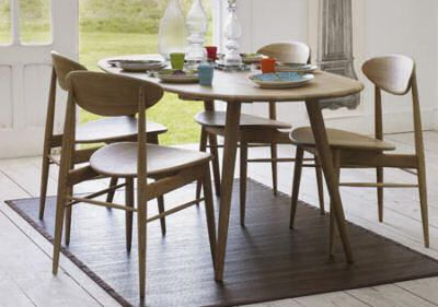 Retrograham Green Style Dining Furniture Retro Dining Table
