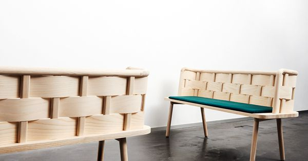 Anders engholm kristensen e sarah cramer banco bendy for Cramer furniture