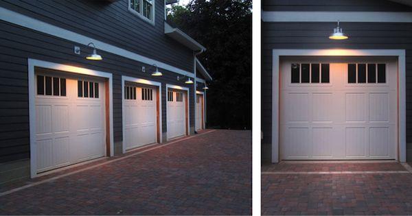 Customer Submission Garage Lighting That Leaves A Lasting Impression Garage Lighting Exterior Barn Lights Motion Sensor Lights Outdoor