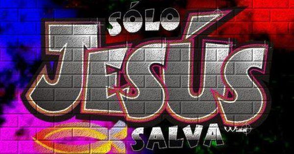 El blog de marcelo libros y videos cristianos nuevos graffitis de jes s graffitis de jes s - Graffitis en paredes ...