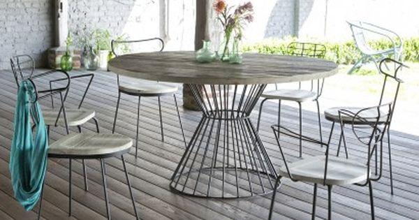 Quelles tables chaises ext rieur choisir nouveaut s table for Table exterieur metal