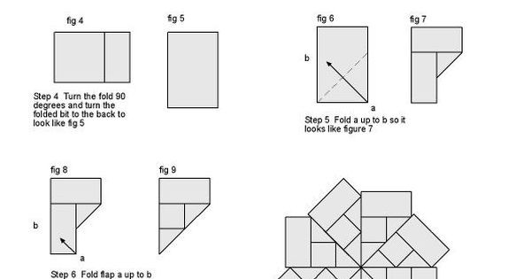 tea bag folding instructions free