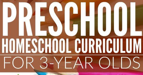 preschool 3 year old curriculum preschool homeschool curriculum for 3 year olds 836