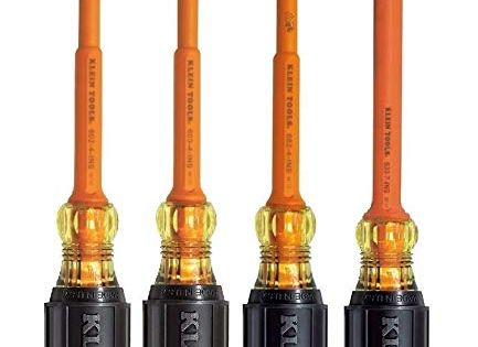 Klein Tools 602 4 Ins 603 4 Ins 633 7 Ins 662 4 Ins 4pc Insulated Screwdriver Kit Review In 2019 Klein Tools Tools Hand Tools