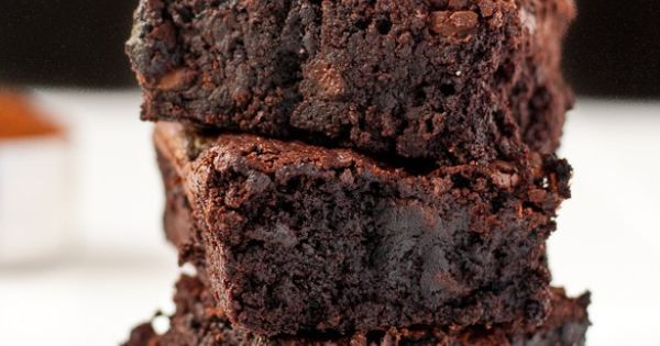 Easy One Pot Fudgy Brownies | Recipe | One Pot, Fudge Brownies and ...