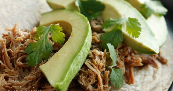 Slow Cooked Pork Carnitas (Mexican Pulled Pork) This sounds yummy, and easy!