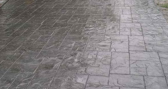 Foundation Armor AR500 High Gloss Coating On Stamped Concrete Driveway.  Http://www.foundationarmor.com/high Gloss Concrete Paver Sealer | Pinterest  ...