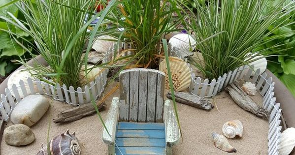 Beach fairy garden i wonder if this would help me to for Help me design my garden