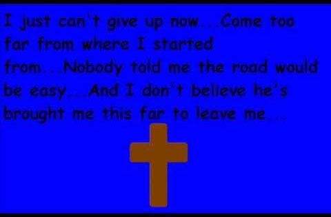 Mary Mary Can T Give Up Now By Remi Banjo Giving Up Lyrics
