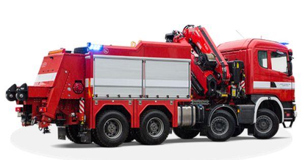 Feuerwehrkran Spielzeug